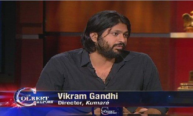 Vikram Ghandi on The Colbert Report