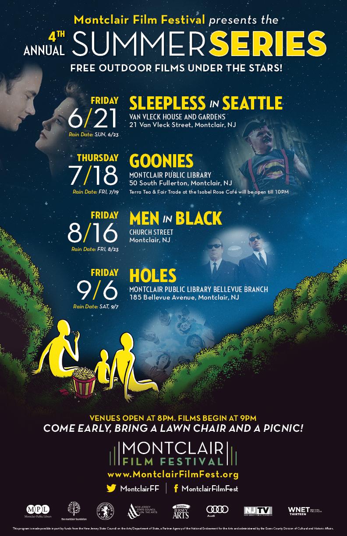 MFF Summer Series 2013 Poster