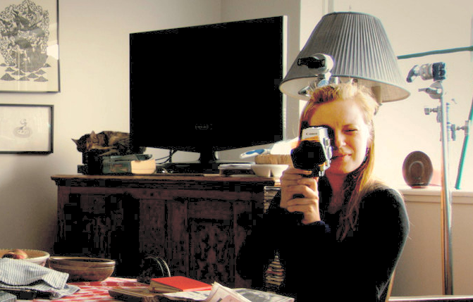 """Sarah Polley in her documentary """"Stories We Tell."""""""