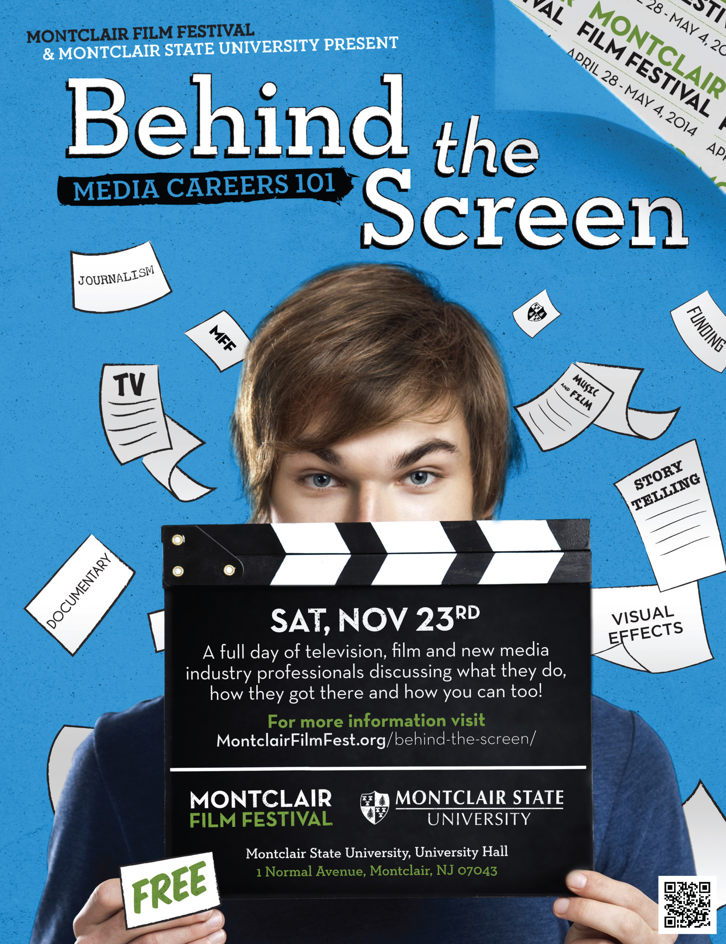 Behind the Screen 2013 Flyer
