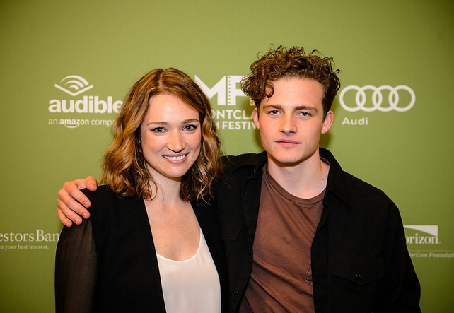 Kristin Connelly and Ben Rosenfield Photo by Neil Grabowsky / Montclair Film Festival