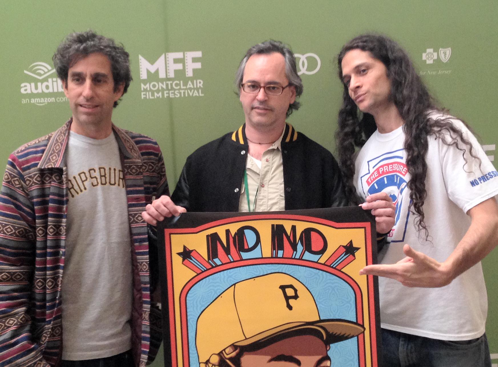 Glenn E. Friedman, photographer; Jeffrey Radice, Director, 'No, No: A Dockumentary; Carlos Canedo, Producer Photo by Bill Battle / Montclair Film Festival