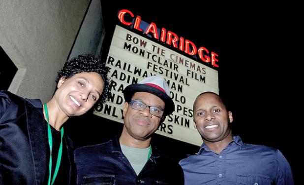 Shola Lynch, Thomas Allen Harris, and Gregory Warren, Jr. Photo by Frank Schramm / Montclair Film Festival