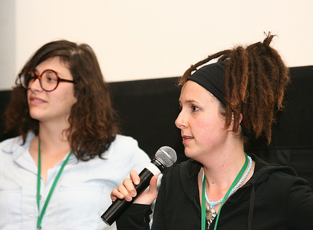 Nadja Oertelt and Anna Wexler Photo by Tony Turner / Montclair Film Festival