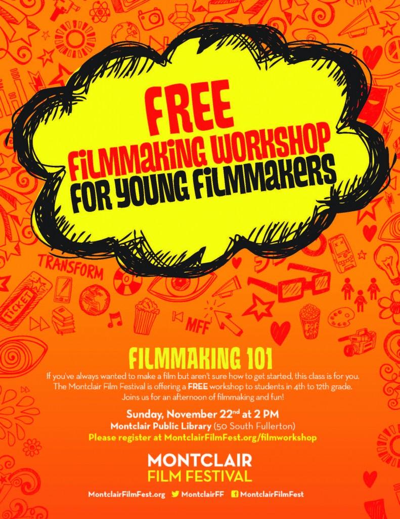 MFF filmmaking Workshop