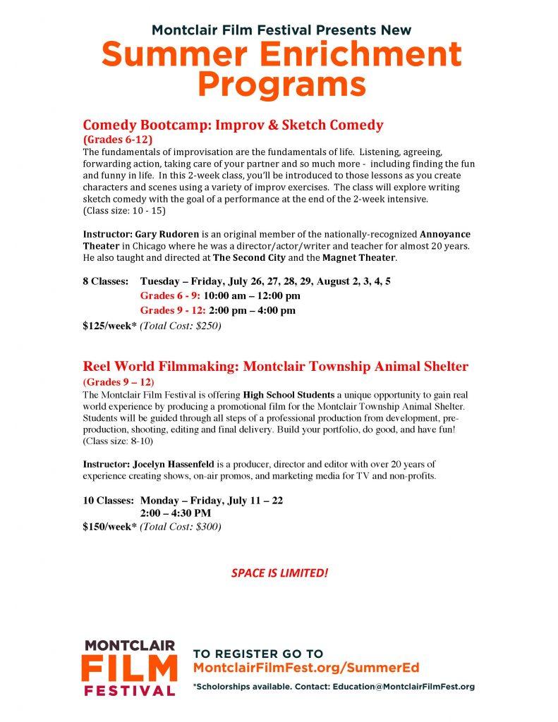 Summer Enrichment flyer May 25FINAL